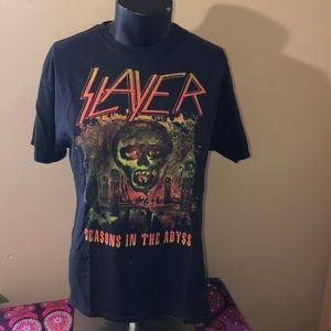 Vintage 1991 Slayer concert T-shirt. Size L.